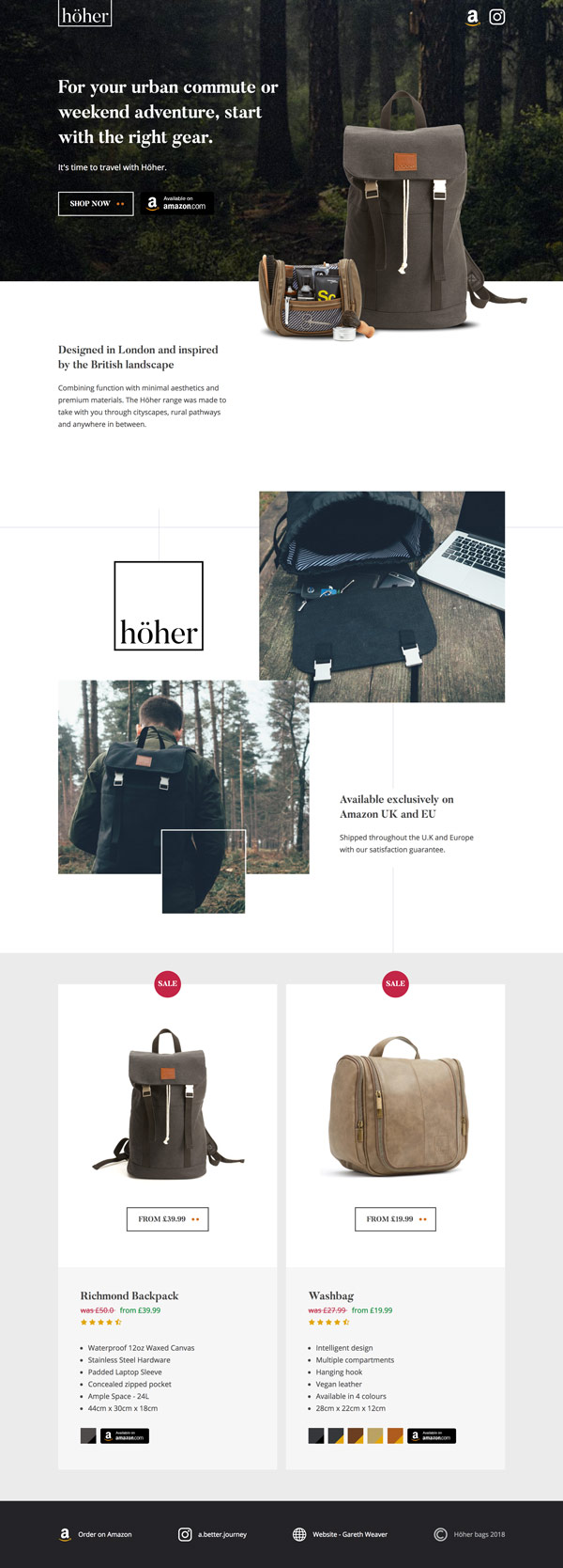 Höher Backpacks 1